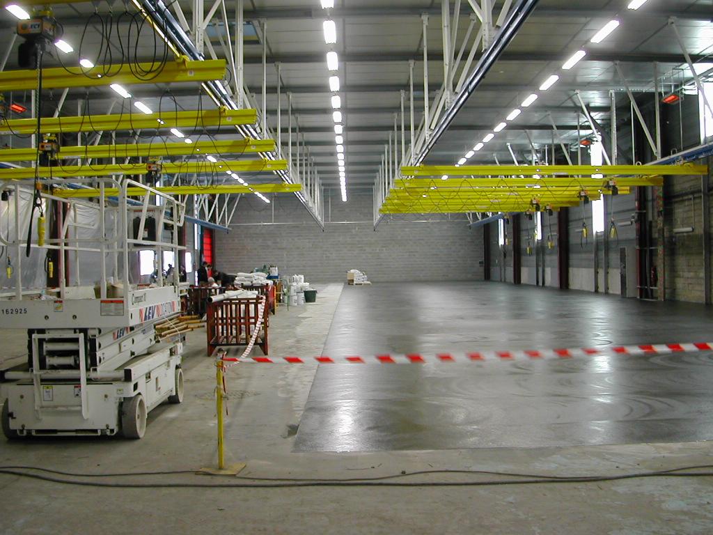 optmisition conception et maintenance de bâtiment industriels